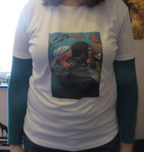Neues T-Shirt von vorne - 1