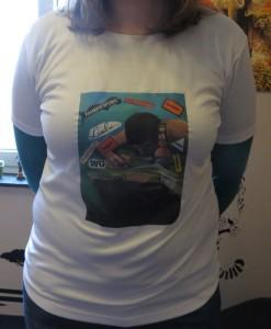 Neues T-Shirt von vorne - 2