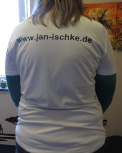 Neues T-Shirt von hinten - 1