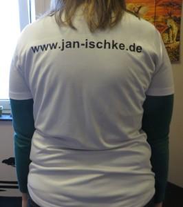 Neues T-Shirt von hinten - 2